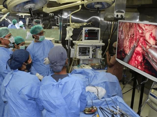 диагностической лапароскопии матки